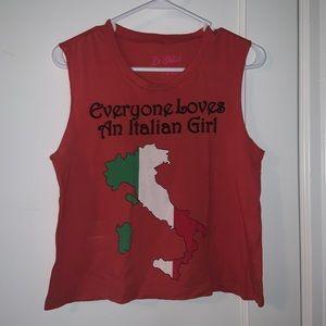 UO Italian Girl Tank! Seen on Gwen Stefani!